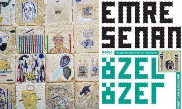 """Emre Senan'ın 15'inci kişisel sergisi """"Özel Özet"""" Art Space Kuzguncuk'ta"""