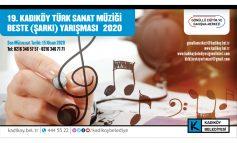 Kadıköy Türk Sanat Müziği Beste Yarışması Başladı