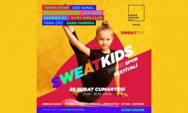 Sweaters İle Çocuk Spor Festivali Emaar'da