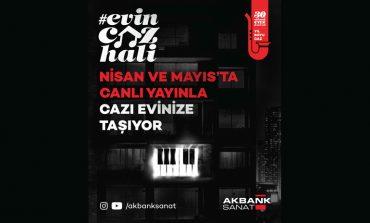 Evin Caz Hali Konserleri Mayıs ayında Eylül Ergül Quartet ile Devam Ediyor