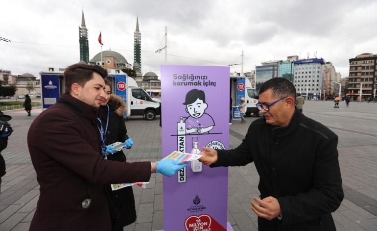 İBB'den vatandaşlara Koronavirüs eğitimi