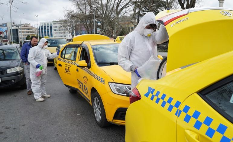 Taksicilere koronavirüs önlemi: Tek-Çift plaka dönemi başlayabilir