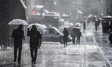 Akom, Çarşamba günü yağmurlu hava için uyardı