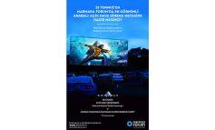 Marmara Forum'dan açık hava arabalı sinema gecesi