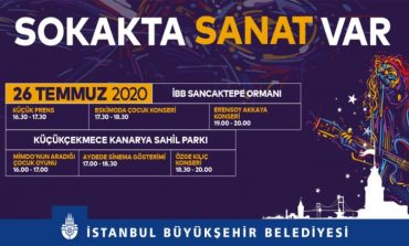 """GÜLHANE'DEN SANCAKTEPE'YE BEYKOZ'DAN BAŞAKŞEHİR'E """"SOKAKTA SANAT VAR"""""""