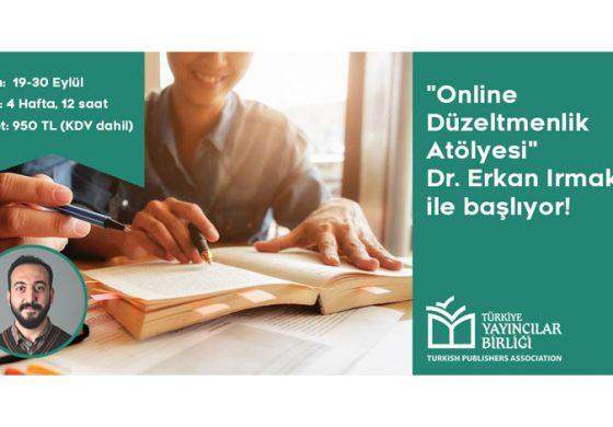 Türkiye Yayıncılar Birliği'nden Yeni Bir Eğitim: Online Düzeltmenlik Atölyesi!