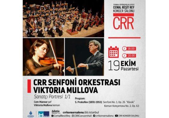 Dünyaca Ünlü Keman Virtüözü Viktoria Mullova CRR'de…