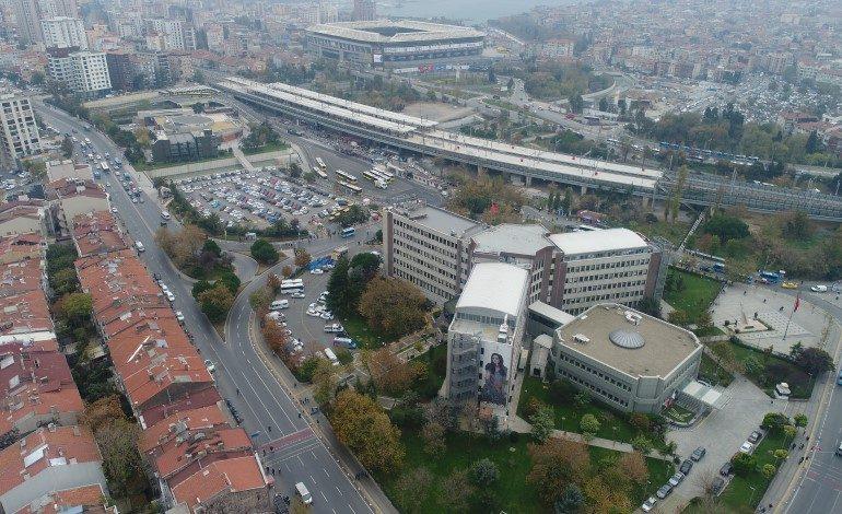 Kadıköy Belediye Binası Yeşil Alan Olmak Üzere Yıkılıyor