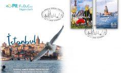 İSTANBUL'UN GÜZELLİKLERİ PTT PULLARINDA