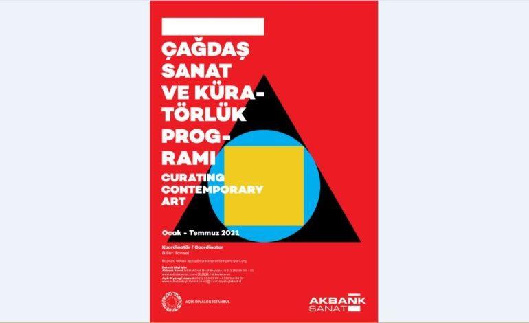 """Akbank Sanat """"Çağdaş Sanat ve Küratörlük"""" Seminer Programı Mart Programı"""