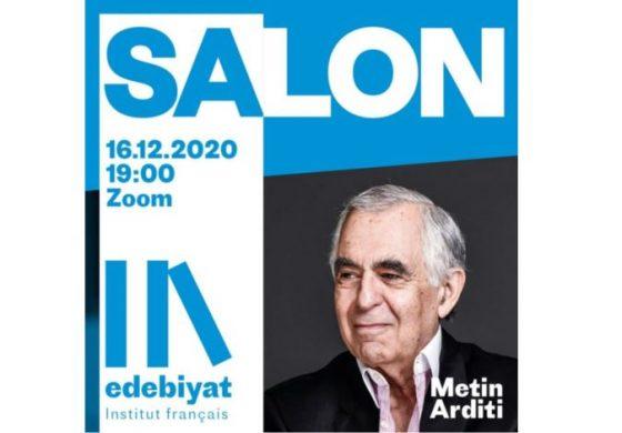Metin Arditi ile online edebiyat sohbeti