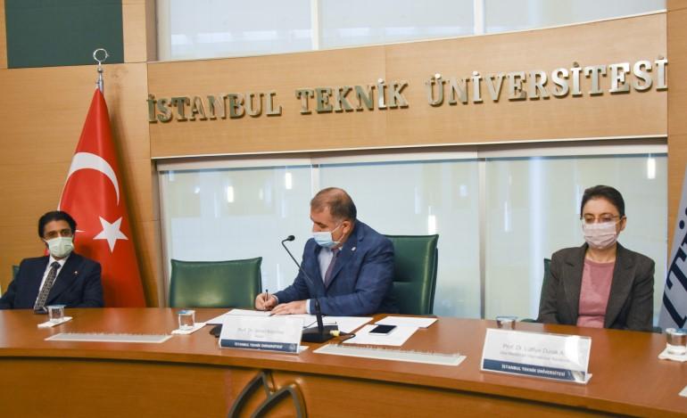 İTÜ ile Katar Üniversitesi Mutabakat Anlaşması İmzaladı