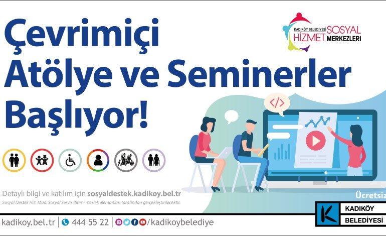 Kadıköy'de Atölye ve Seminerler Artık Çevrim İçi