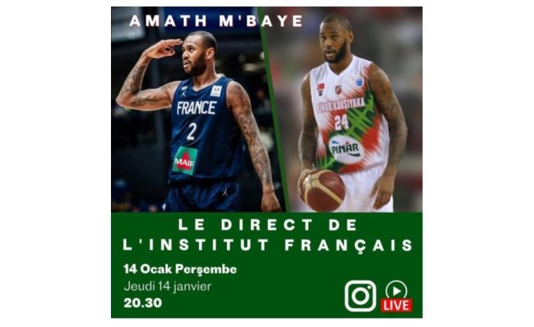 Institut français Türkiye basketbolun yıldızını ağırlıyor