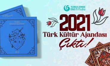 Yunus Emre Enstitüsü - 2021 Türk Kültür Ajandası Hazır