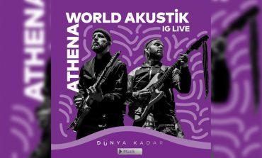 """Yapı Kredi bomontiada """"World Akustik sahnesinde bu hafta: Athena"""