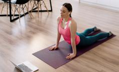 Online yoga derslerine talep artıyor