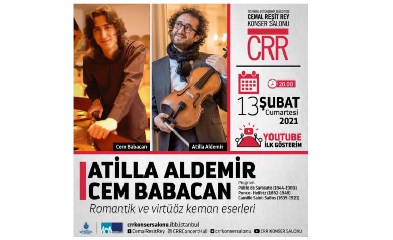 CRR'nin Şubat Ayı Çevrimiçi Konserleri Devam Ediyor