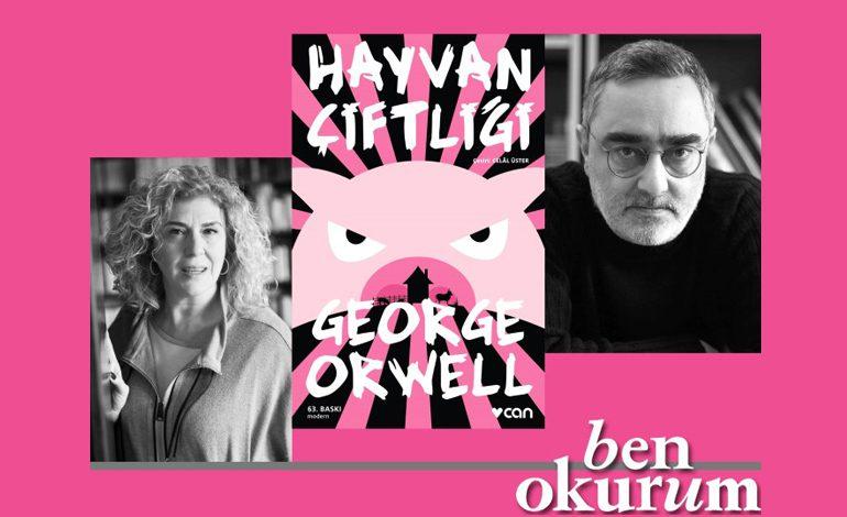 GEORGE ORWELL'İN HAYVAN ÇİFTLİĞİ'Nİ DİLİMİZE KAZANDIRAN CELAL ÜSTER, ESERİN YAŞADIĞIMIZ GÜNLERİ DAHA İYİ ANLAMAMIZI SAĞLAYACAĞINI BELİRTİYOR