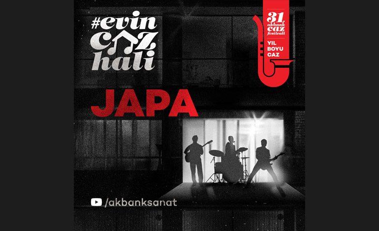 Evin Caz Hali Konserleri Mart ayında JAPA ile Devam Ediyor