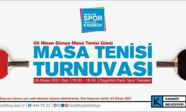 Masa Tenisi Meraklıları Kadıköy'de Buluşuyor