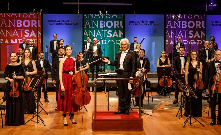 Borusan Sanat Haftalık Konserlinde 8 Nisan'da CRR Genel Sanat Yönetmeni Cem Mansur,  9 Nisan'da Gürer Aykal'ın yönetiminde, solist viyolonselci Camille Thomas Sahne Alıyor