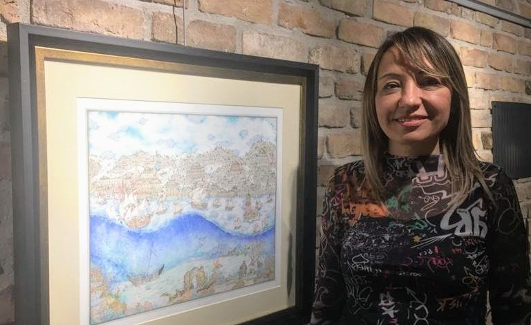 Serap Onur'un Evvel Ahir İsimli Eseri Üsküdar Minyatür Yarışmasında İkincilik Ödülü Kazandı