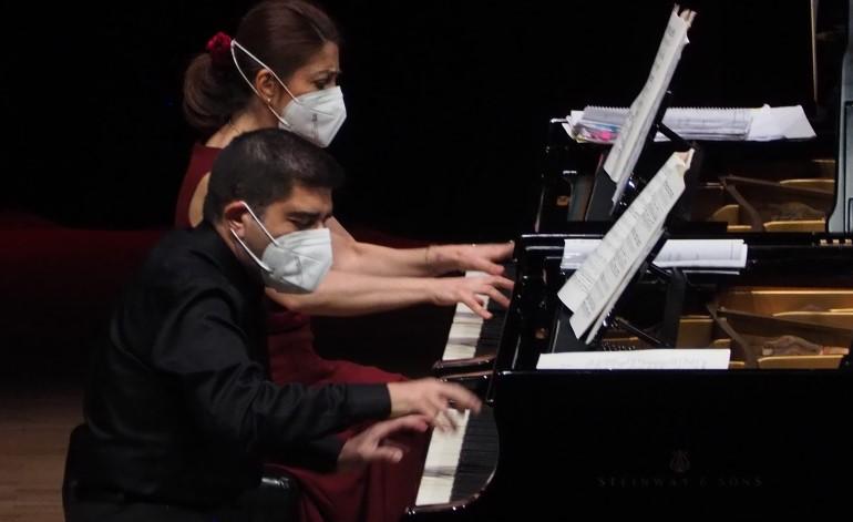 """CRR'de """"İki Piyanonun Dansı"""""""