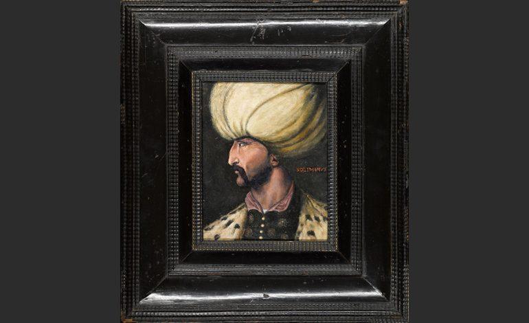 Kanuni Sultan Süleyman Portresi Satın Alan Kişi Tarafından İBB'ye Bağışlandı