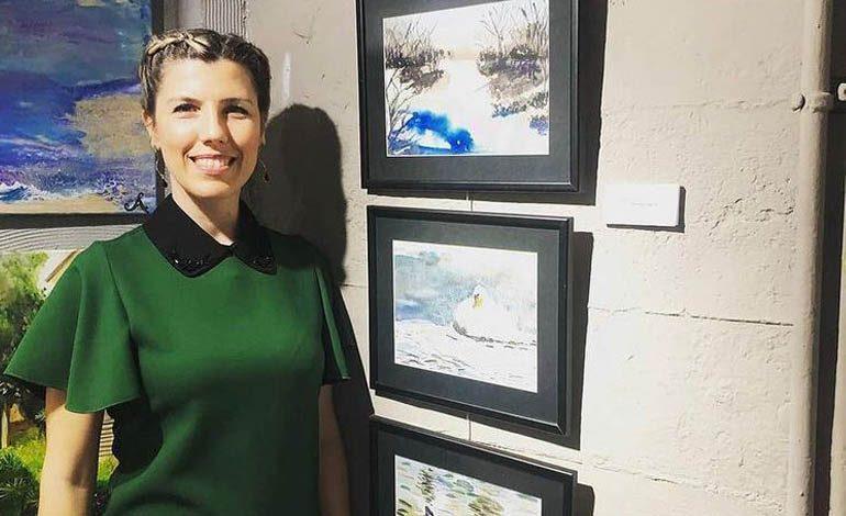 """Sanatçı Belma Bozkurt, Karl Ein Sanat Galerisi """"Vuslat"""" karma sergisine katılıyor"""