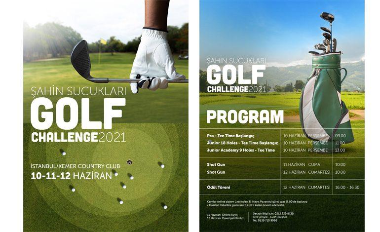 GOLF CHALLENGE 2021 10-11-12 HAZİRAN'DA KEMER COUNTRY CLUB'DA!
