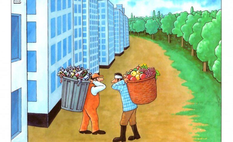 """Aydın Doğan Uluslararası Karikatür Yarışması """"Doğa Alarm Veriyor"""" Sergisi, Basın Müzesi'nde Ziyaretçilerini Bekliyor"""