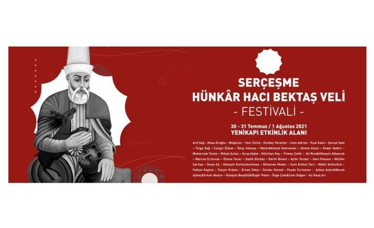 """İSTANBUL, """"SERÇEŞME HÜNKÂR HACI BEKTAŞ VELİ FESTİVALİ''NDE BULUŞUYOR"""