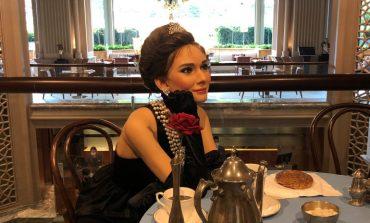 Hollywood'un efsanevi oyuncusu Audrey Hepburn'ün balmumu figürü Grand Hyatt İstanbul'da