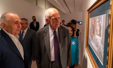 """İnan Kıraç ve Bedrettin Dalan """"Yüzleşme"""" için Pera Müzesi'nde buluştu"""