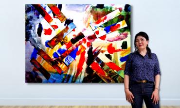 Çağdaş Sanatçı Gao Anqi Kocasinan Galeri Binyıl'la CI'21'de