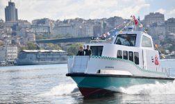 """Deniz Taksi Suya İndi, İmamoğlu: Hizmet tutkumuzun önünde hiçbir şey duramaz"""""""