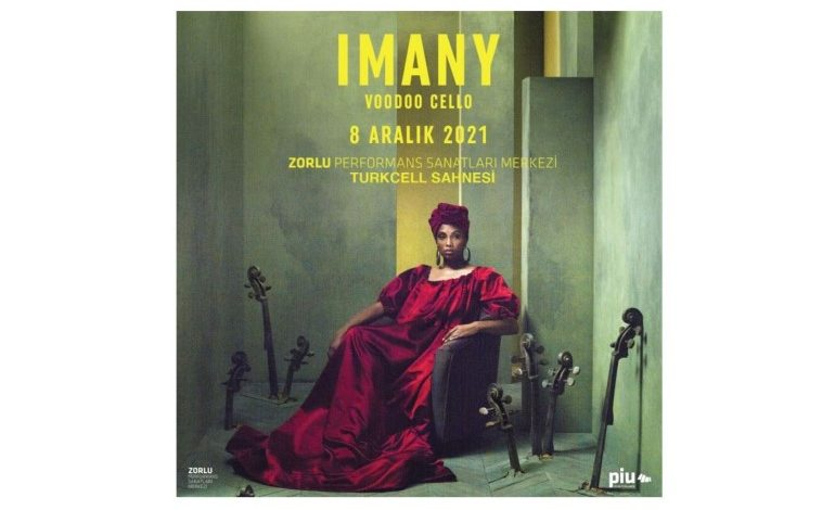 Soul müziğin Fransız divası Imany, yeni albümüyle ilk kez Zorlu PSM'de