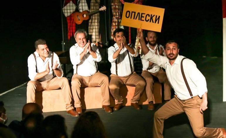 Maltepe Belediye Tiyatrosu Ukrayna'daki tiyatro festivalinde  büyük beğeni topladı