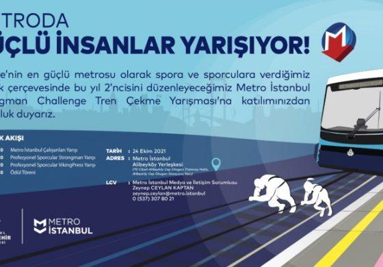 İstanbul'da Sıra Dış Yarışma: 47 Tonluk Treni Çekecekler