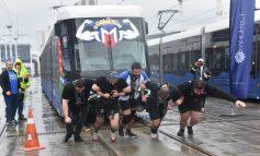 'Metro İstanbul Strongman Challenge Tren Çekme Yarışması'nda rekor kırıldı